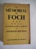 Le mémorial de FOCH. . RECOULY Raymond