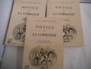 Notices de Lorraine. DOM CALMET