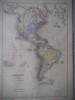 Carte de l'Amérique avant 1776 . SCHNITZLER J.H