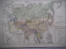 Carte de l'Asie actuelle et l'Empire Russe.. SCHNITZLER J.H