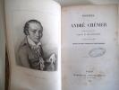 Poésies notice de M.H de Latouche.. CHENIER André