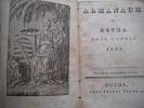 almanach de Gotha pour l'année 1825. PERTHES Justus