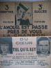La môme PIAF,Tino ROSSI,Danielle DARRIEUX, ANDREX,Jo BOUILLON,  Lucienne BOYER, Maurice CHEVALIER, Rina KETTY, REDA CAIRE,  Lucienne DELYLE. . ...