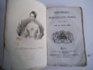 Fontainebleau, Versailles, Paris (juin 1837). JANIN Jules