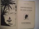 Impressions Marocaines . BERTHEL Janine