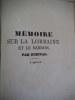 Mémoire sur la Lorraine et Barrois . DURIVAL