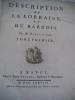 Description de la Lorraine et du Barrois. DURIVAL