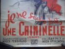 Je ne suis pas une criminelle.. BERNARD-ROLAND
