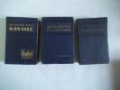 Les guides bleus. AUVERGNE et CENTRE-SAVOIE- SAVOIE. . Collectif