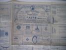 catalogue spécial n°15 année 1924. . Etablissements FABRE Monteux
