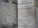 Manuel de géographie par demandes et par réponses.. DE CROZAT