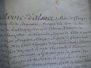 Lettre Patente du Prince de CHIMAY  . CHIMAY Prince de