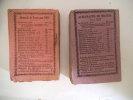 Almanach nouveau Petit courrier.1884-1891 . Collectif