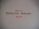 Le vin . BERNARD Hippolyte