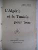 L'Algérie et la Tunisie pour tous. . CROS Louis