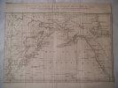 carte de la partie septentrionale de la mer du sud, comprise entre la Californie, les isles sandwich, le japon et le détroit de Behring. collectif