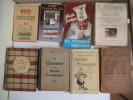 Le petit comme chez soi- guide pratique du pâtissier moderne- la bonne cuisine de Tante Agathe-manuel pratique de cuisine- Le cuisinier à la bonne ...