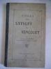 Essai sur SAVIGNY et VONCOURT . AUBERT Antoine