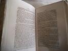 Biographie parlementaire des Représentants du Peuple à l'Assemblée Nationale Constituante de 1848.. ALHOY Maurice