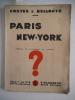 Paris New-York.. COSTES & BELLONTE;