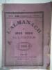 l'Almanach à deux sous illustré pour la Lorraine.1894 . Almanach