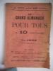 Le grand almanach pour tous à 10 centimes pour 1898. Almanach