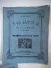 Almanach  étrennes du Narrateur de Saint-Mihiel à ses abonnés pour 1877 . Almanach