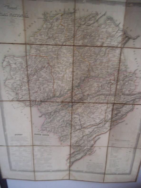 carte du Doubs . collectif