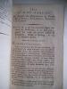 AN IV-feuilleton des Résolutions et des projets de la Révolution.. anonyme