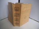 Les almanachs français. GRAND CARTERET John