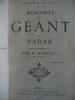 Mémoires du Géant avec une introduction apr M. BABINET de l'Institut.. NADAR