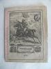 Almanach nouveau  Le Postillon de la paix et de la guerre 1872 . anonyme