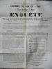 Chemin de fer ligne de Reims à Metz extrait du registre des délibérations rapport de M de Benoist, secrétaire de la commission.. Chemin de fer ligne ...