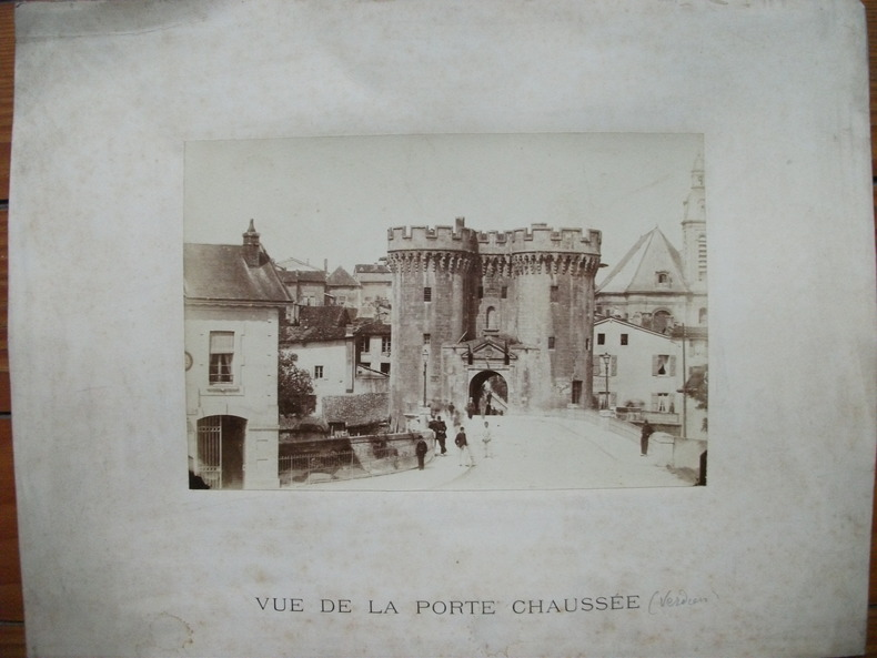 Verdun,la Porte Chaussée. Anonyme/Verdun