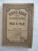 Annuaire de Lorraine Meuse 1927.. GRANDVEAU A et M HANESSE