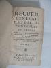 recueil général des pièces contenues au procez de Monsieur le marquis de Gesvres et de Mademoiselle de Mascranni son épouse. . GESVRES Marquis ...