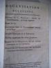 Organisation des cultes Discours du C. Portalis orateur du Gouvernement au corps législatif.Projet de loi-Convention entre le Gvt Français et le ...