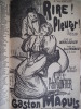 Chansons du Chat Noir. Mac Nab,Gustave Nadaud Théodore Botrel