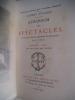 Almanach des spectacles pour l'année 1893 . collectif