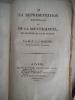 De la représentation Nationale et de la souveraineté en Angleterre et en France . MAZURE F.A.J
