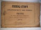 Irrigation et assainissement des terres . PARETO Raphaël