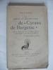 Les erreurs de documentation de Cyrano de Bergerac . MAGNE Emile