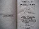 Histoire d'Irlande . GORDON M.J