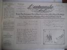 L'Autographe . VILLEMESSANT(H de) et BOURDIN (G)