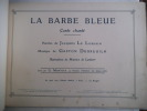 La Barbe Bleue conte chanté  . (enfants)contes de perrault