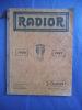 catalogue RADIOR . Catalogue