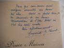 Douce Maison. CHENET Marguerite