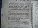 Loix relatives aux assignats du 13 septembre 1792. L'An quatrième de la République.. Collectif
