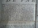 Ordonnance du Roi concernant les déserteurs des troupes provinciales du 1er août 1779.. Louis XVI