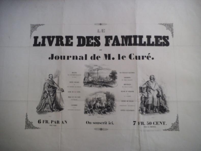 Affiche Le Livre  des Familles . Collectif